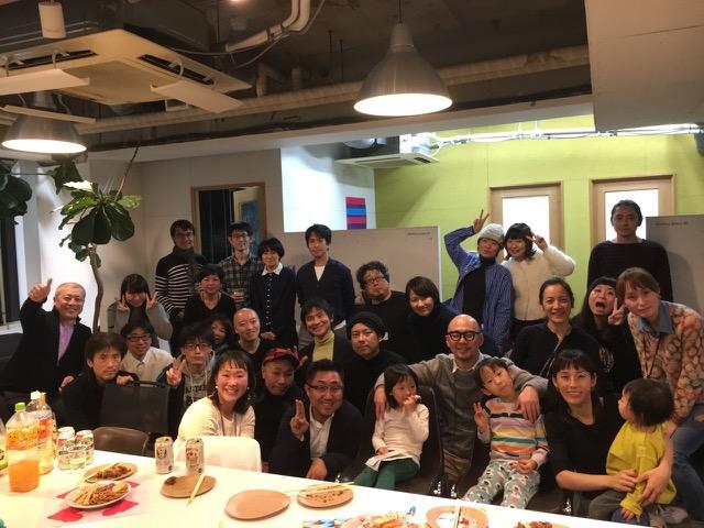 2018/1/19 co-lab千駄ヶ谷クロージングパーティ